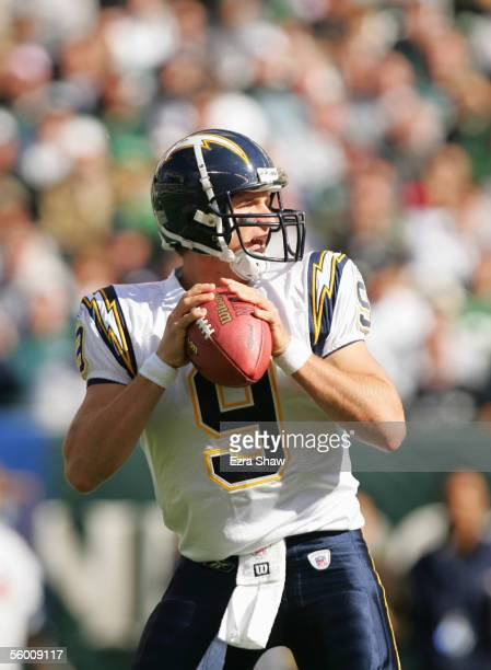 Quarterback Drew Brees of the San Diego Chargers looks to pass during the game against the Philadelphia Eagles at Lincoln Financial Field on October...