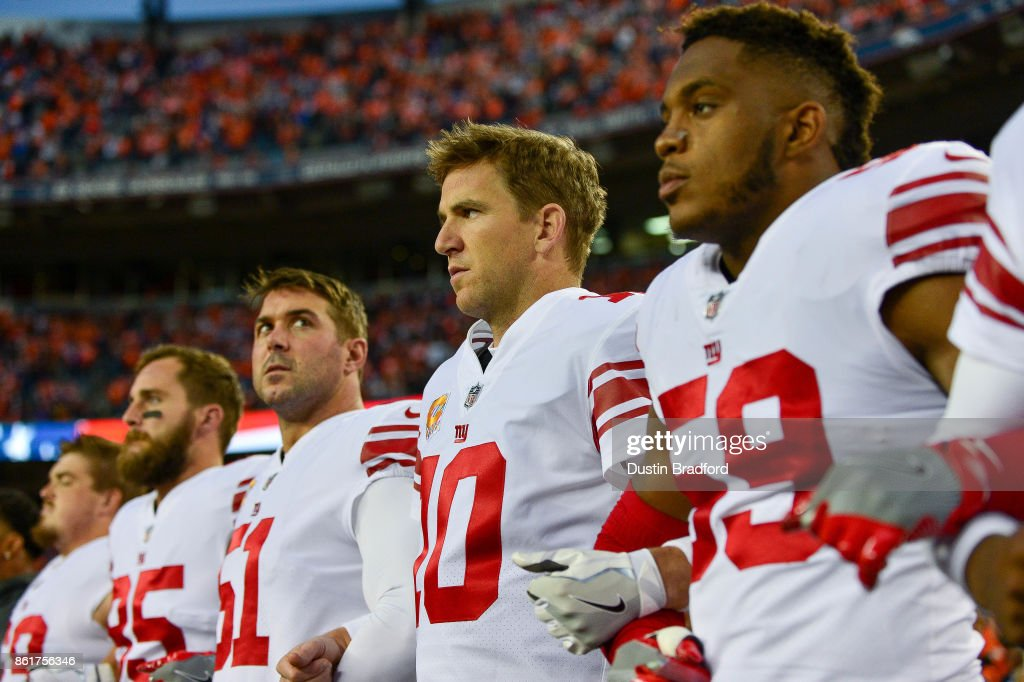 New York Giants v Denver Broncos : News Photo
