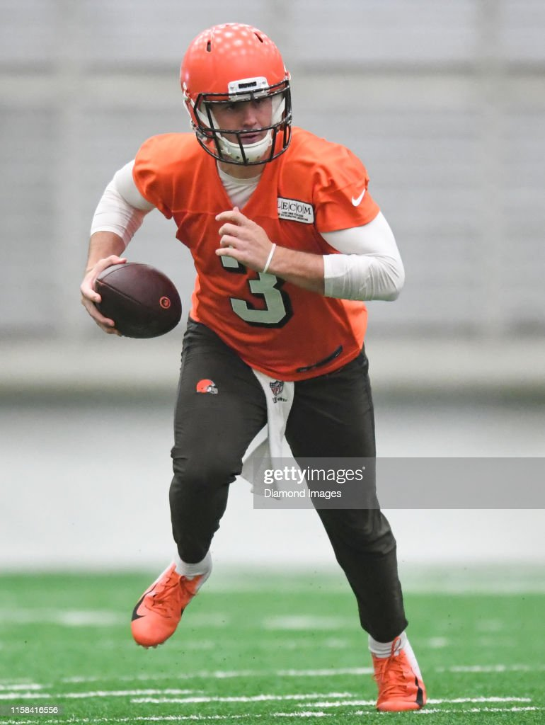 Quarterback Garrett Gilbert Of The Cleveland Browns Carries The Ball News Photo Getty Images