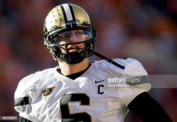 Quarterback Jack Cutler lead the Vanderbilt Commodores against the Tennessee Volunteers as the Commodores defeated the Volunteers 2824 on November 19...