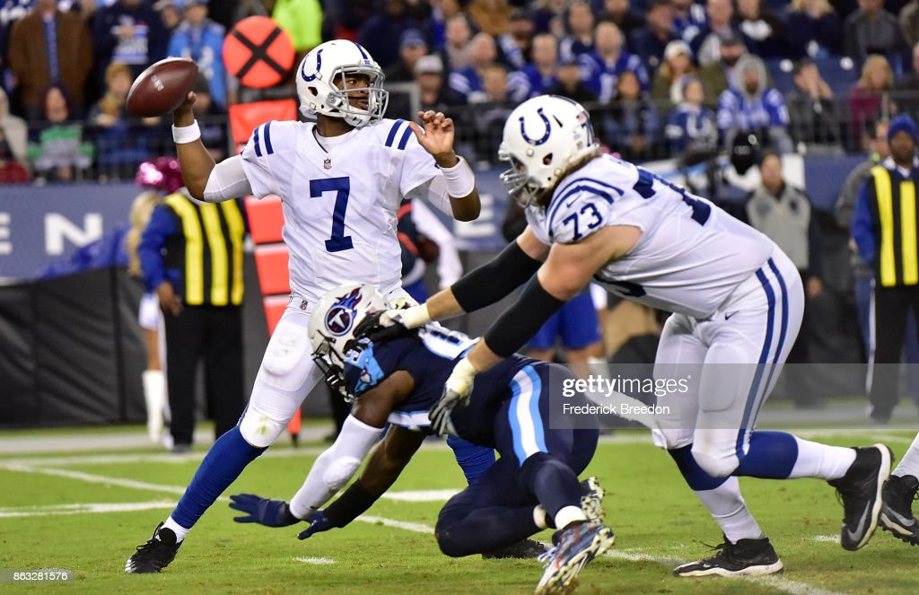 Indianapolis Colts v Tennessee Titans : News Photo