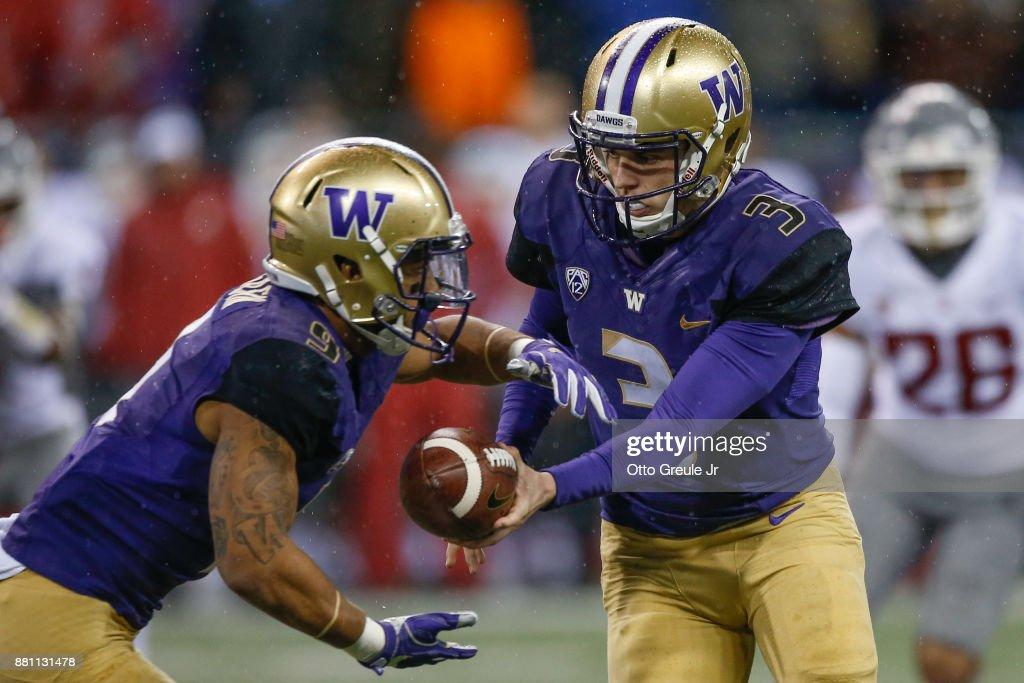 Washington State v Washington : News Photo