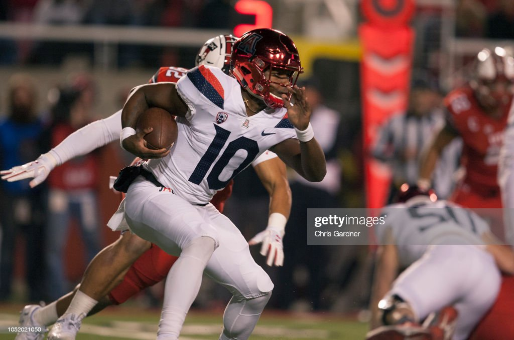 Arizona v Utah : News Photo