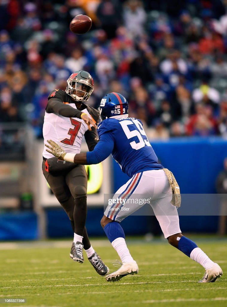 Tampa Bay Buccaneers v New York Giants : Nachrichtenfoto