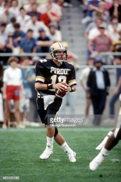 Jeff George American Football Player Stock Photos And