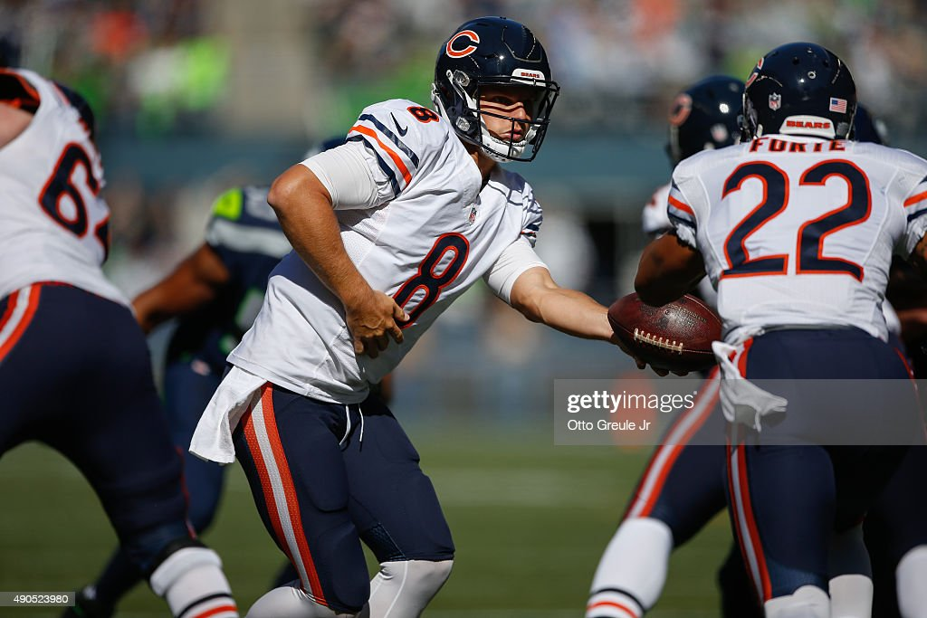 Chicago Bears v Seattle Seahawks : News Photo