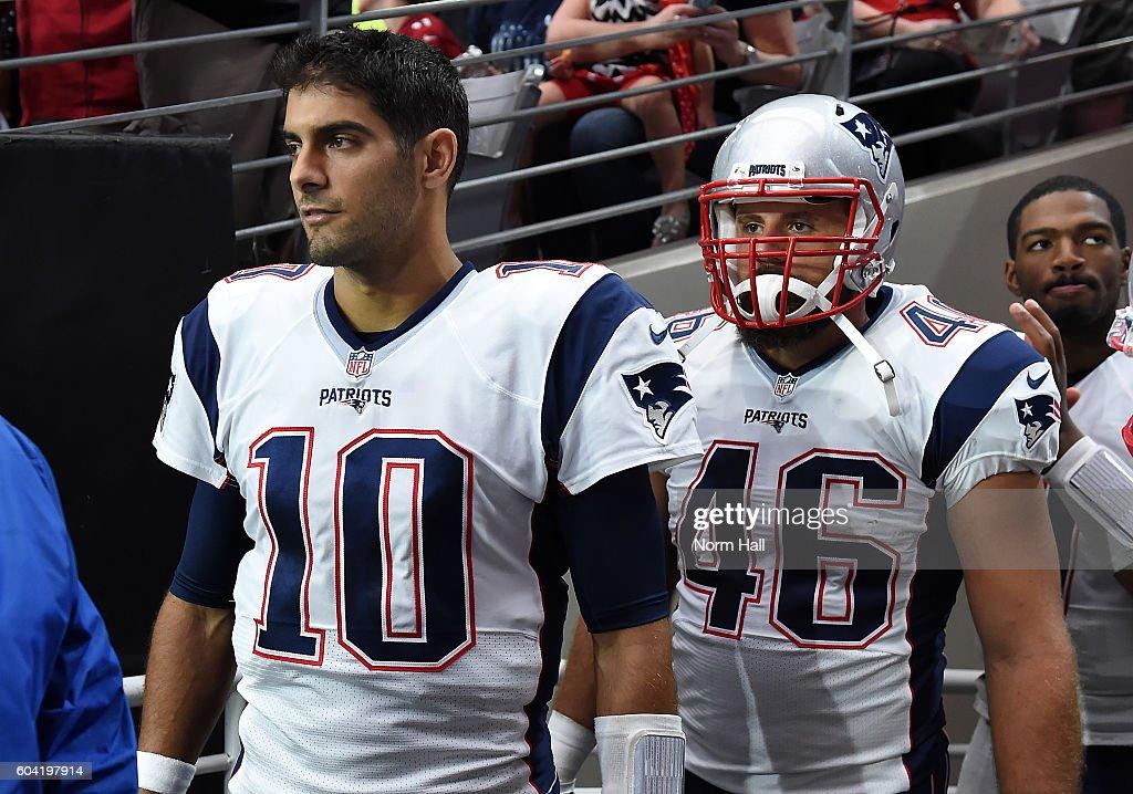 New England Patriots v Arizona Cardinals : News Photo