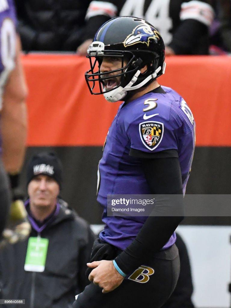 Baltimore Ravens v Cleveland Browns : Fotografia de notícias