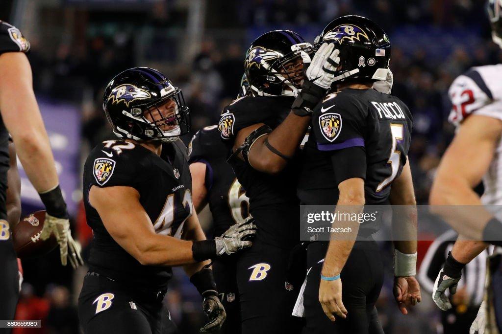Houston Texans v Baltimore Ravens : News Photo