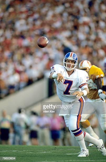 Quarterback John Elway game action during Denver Broncos 1994 Season