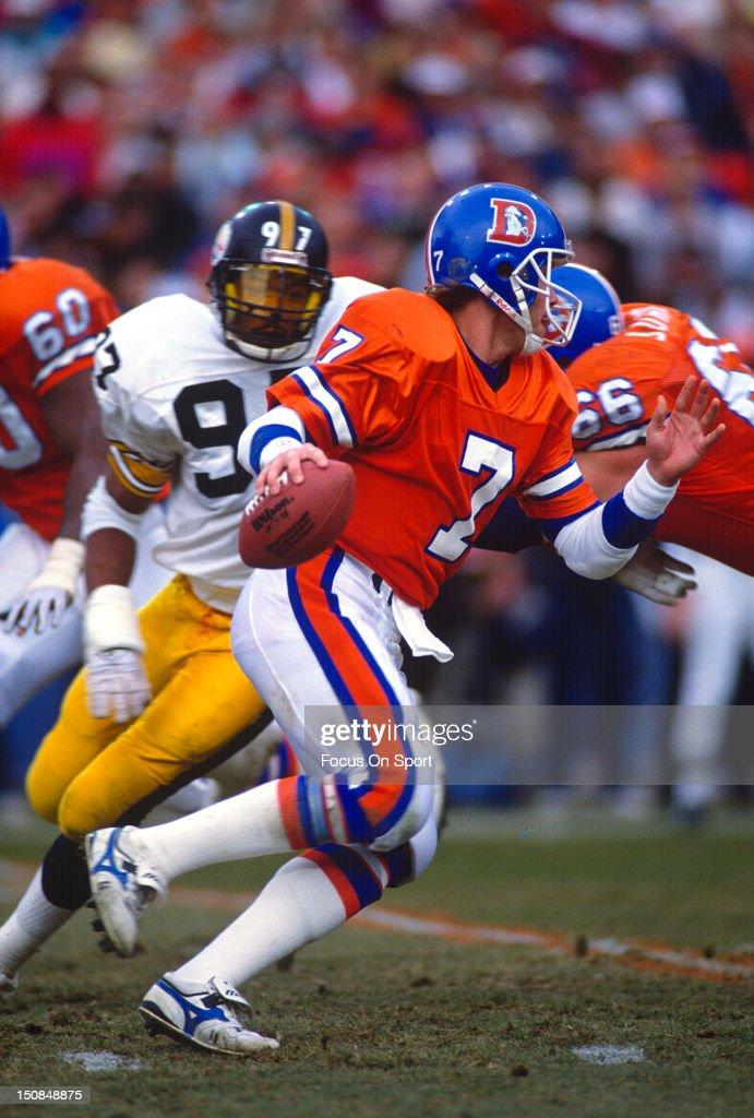 AFC/NFL Conference Playoffs - Pittsburgh Steelers v Denver Broncos : News Photo