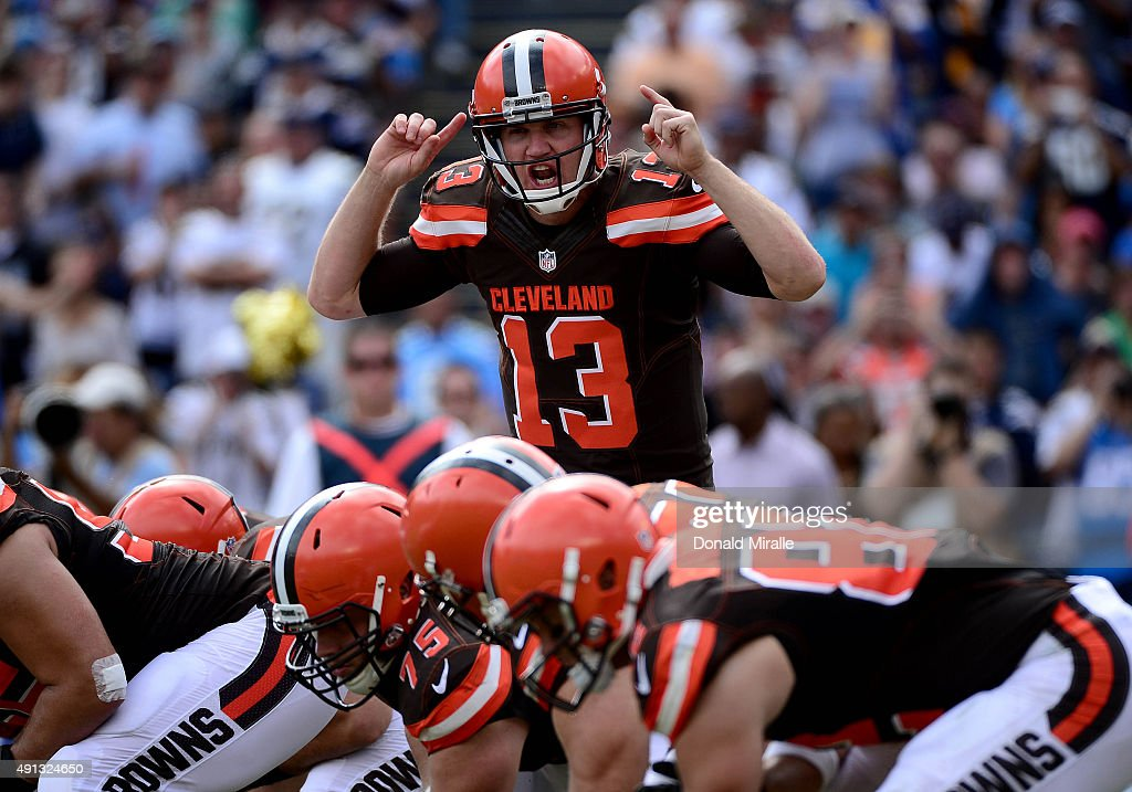 San Diego Chargers vs Cleveland Browns : News Photo