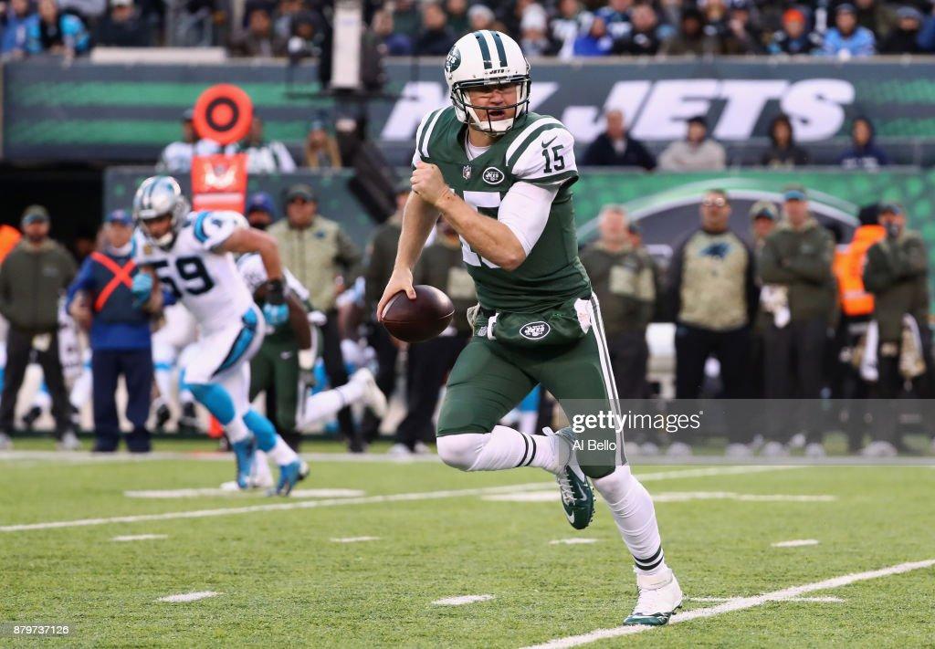 Carolina Panthers v New York Jets : Foto jornalística