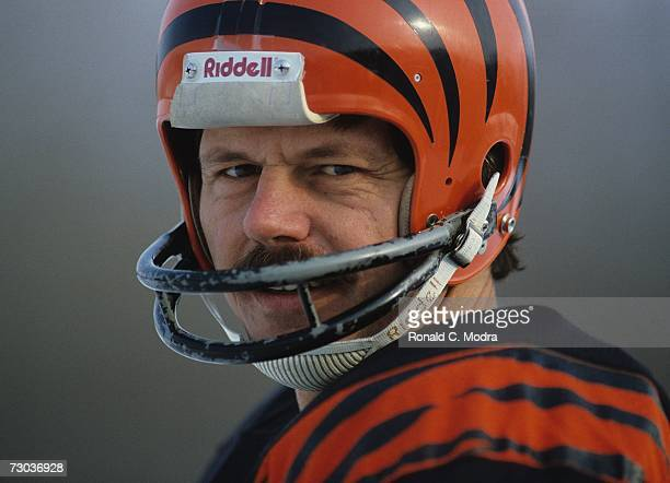 Quarterback Ken Anderson of the Cincinnati Bengals during a game in January 1982 in Cincinnati Ohio