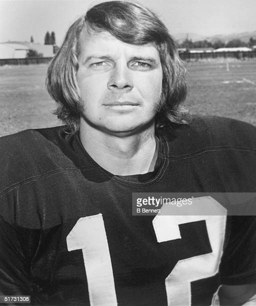 Quarterback Ken Stabler of the Oakland Raiders poses for a protriat circa 19701979