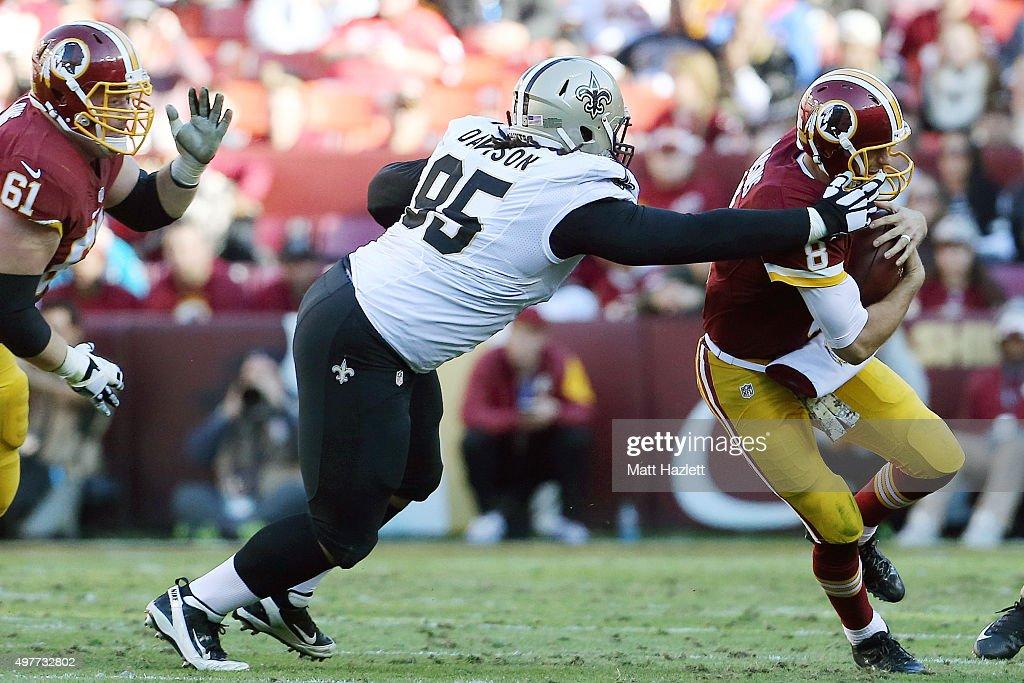 New Orleans Saints v Washington Redskins : Fotografía de noticias