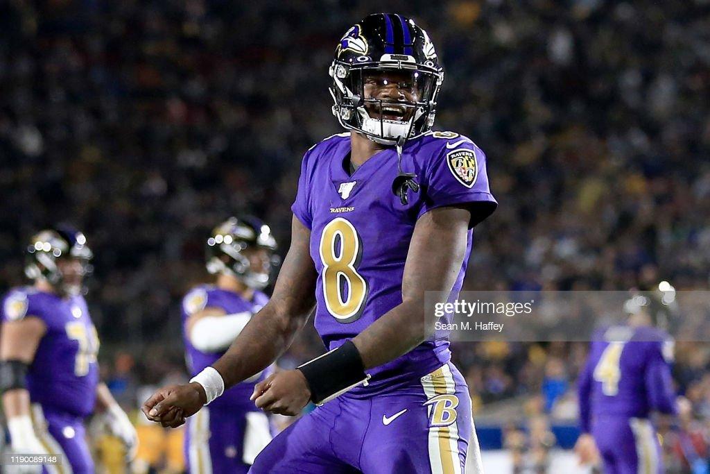 Baltimore Ravens vLos Angeles Rams : News Photo