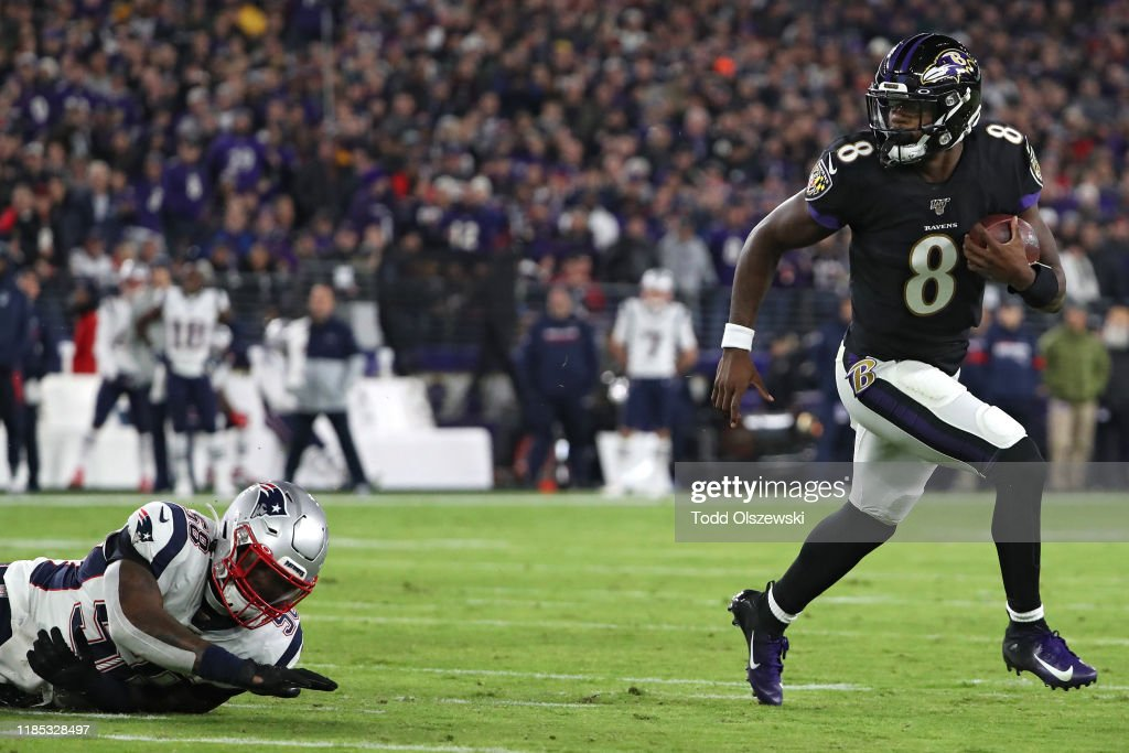 New England Patriots v Baltimore Ravens : ニュース写真