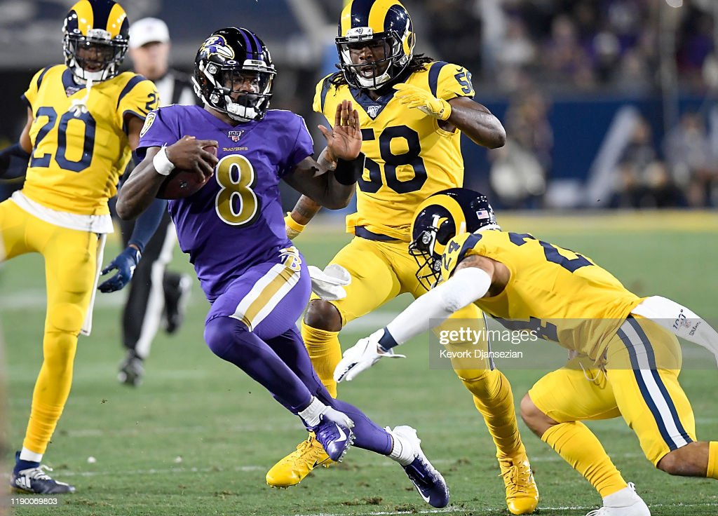 Baltimore Ravens v Los Angeles Rams : News Photo