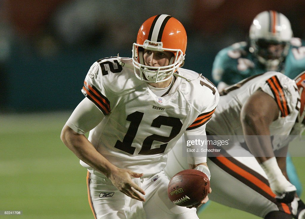 Cleveland Browns v Miami Dolphins : News Photo