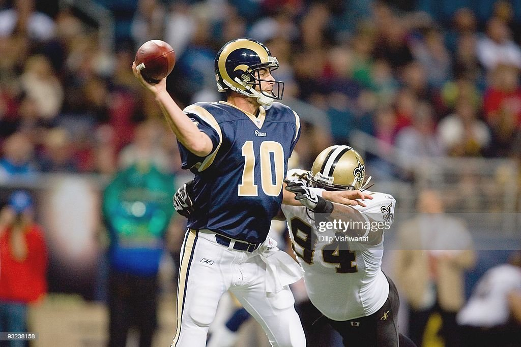 New Orleans Saints v St. Louis Rams : News Photo