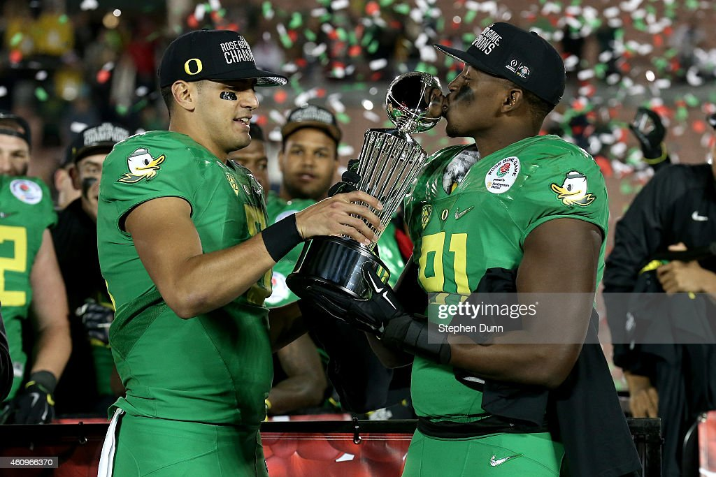 Rose Bowl - Oregon v Florida State : News Photo