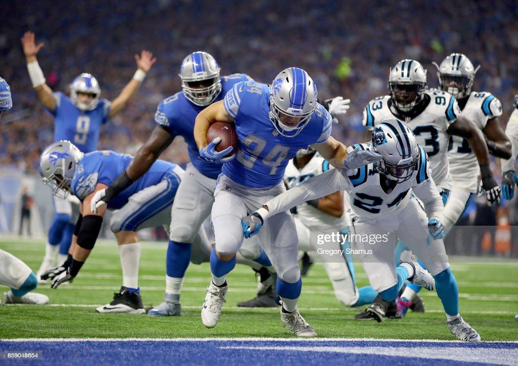 Carolina Panthers vDetroit Lions
