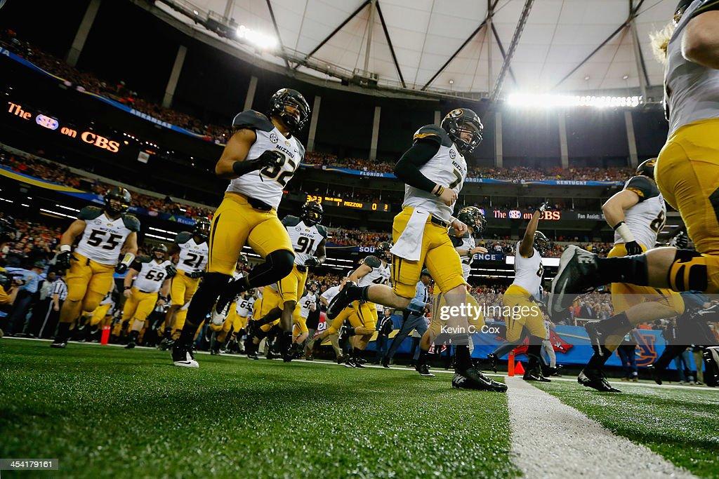 SEC Championship - Missouri v Auburn : News Photo