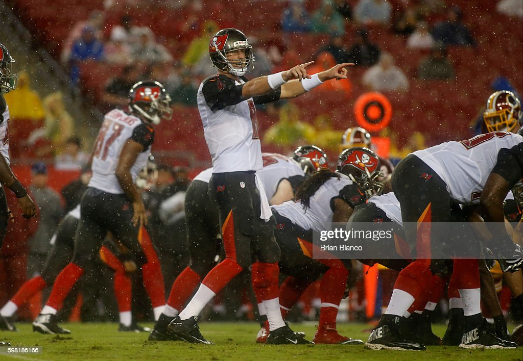 Washington Redskins v Tampa Bay Buccaneers