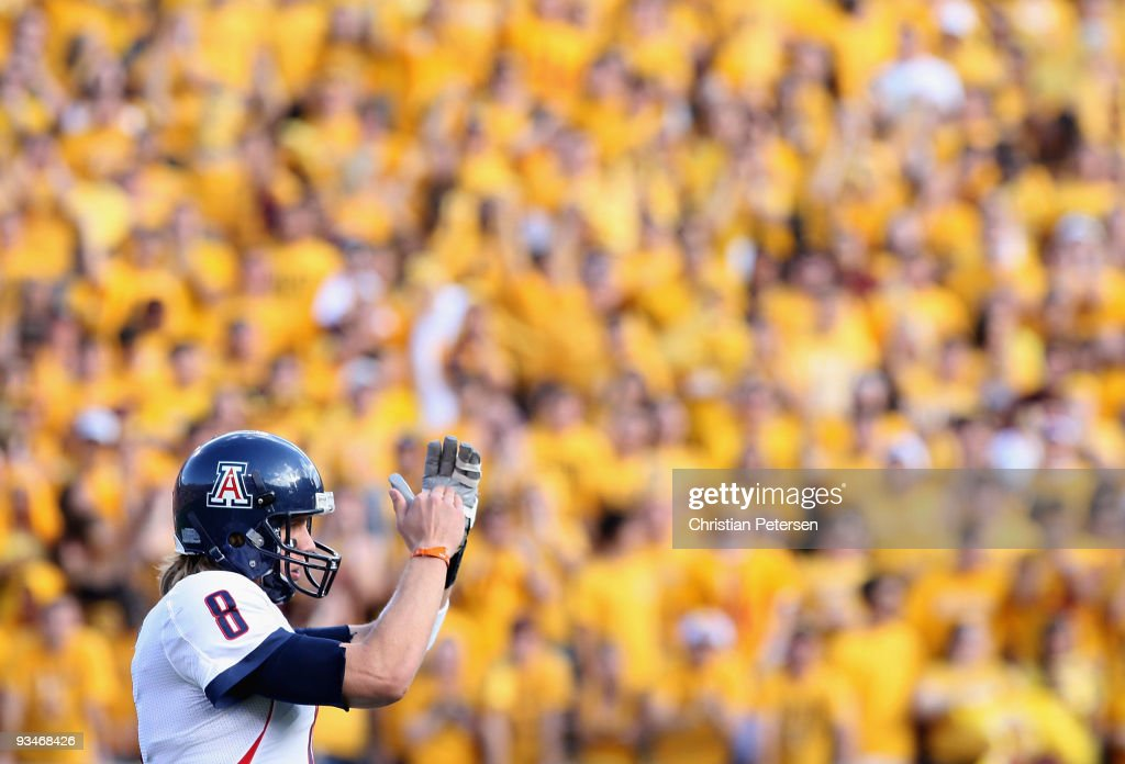 Arizona v Arizona State : News Photo