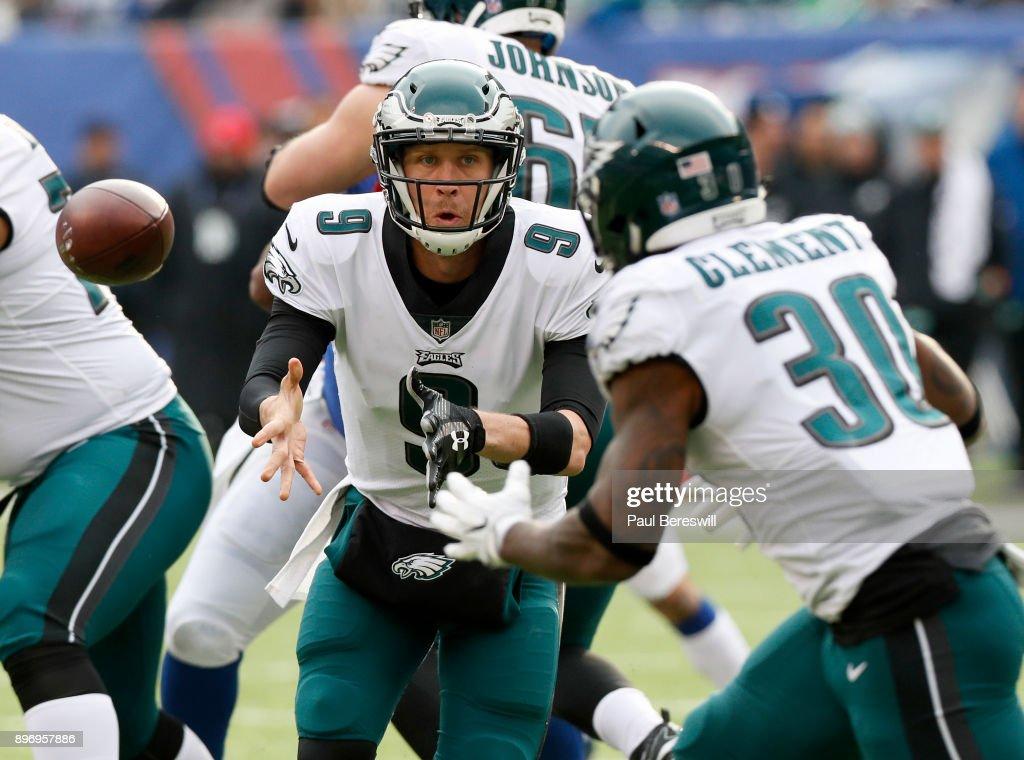 Philadelphia Eagles v New York Giants : Fotografia de notícias