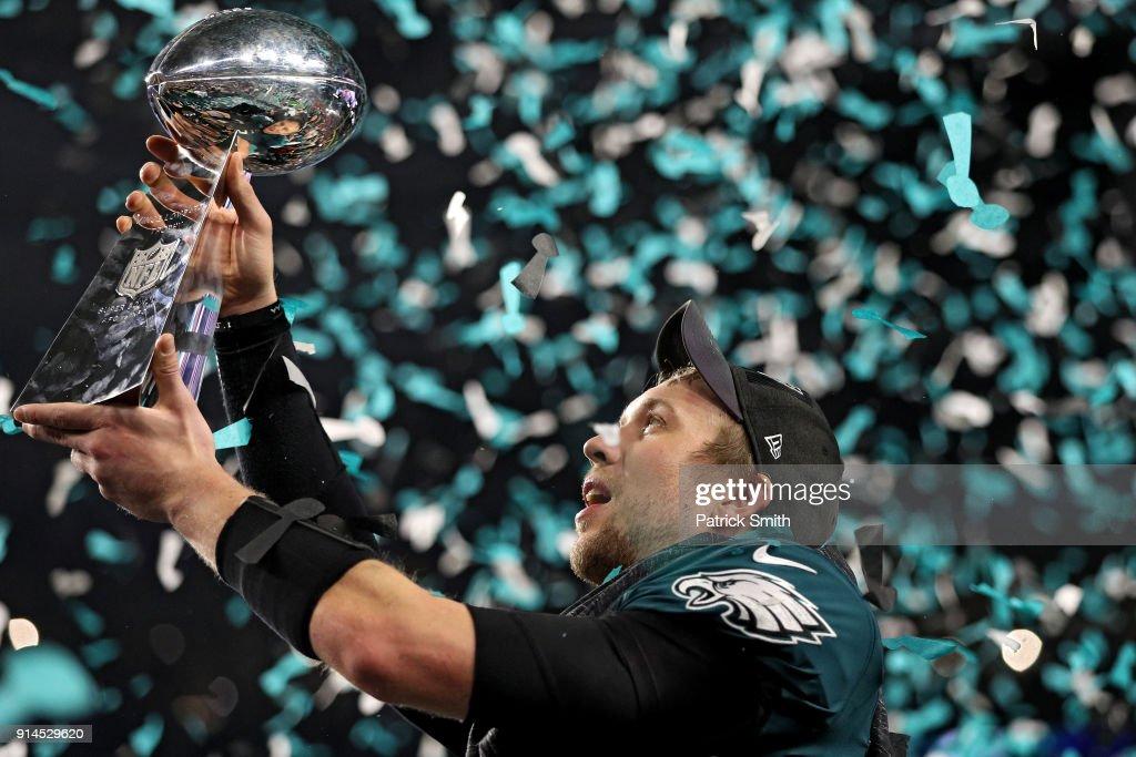 Patriots Battle The Eagles In Super Bowl LII