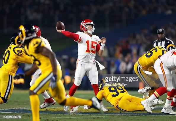 Quarterback Patrick Mahomes of the Kansas City Chiefs ...