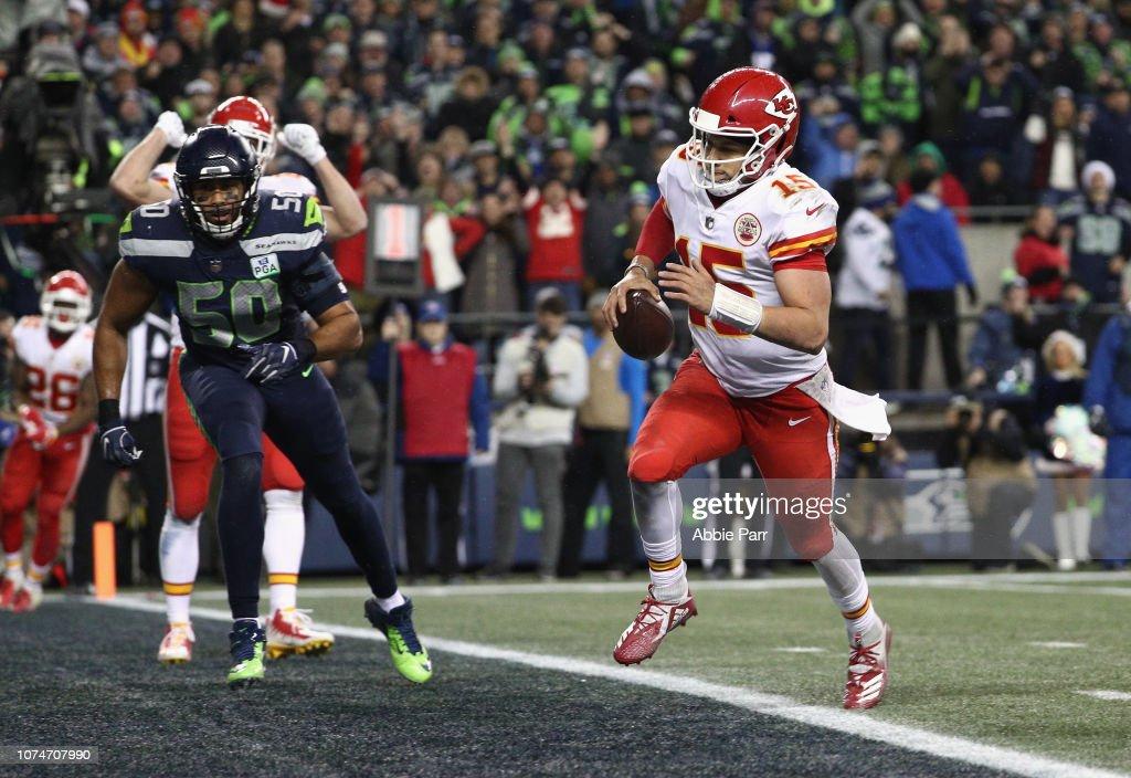 Seattle Seahawks QB Russell Wilson vs. Kansas City Chiefs