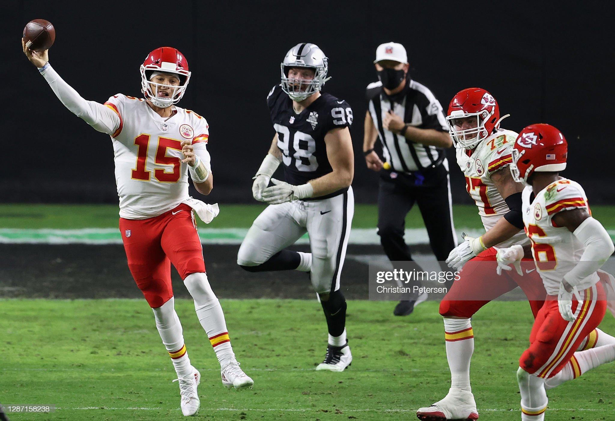 Kansas City Chiefs v Las Vegas Raiders : News Photo