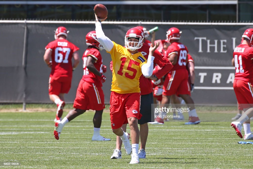 NFL: MAY 07 Chiefs Rookie Camp : News Photo