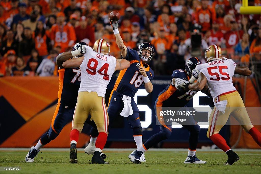 San Francisco 49ers v Denver Broncos : News Photo