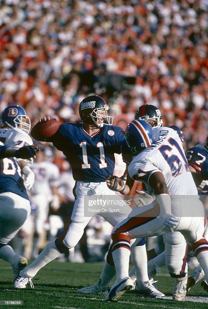 Super Bowl XXI - New York Giants v Denver Broncos : News Photo
