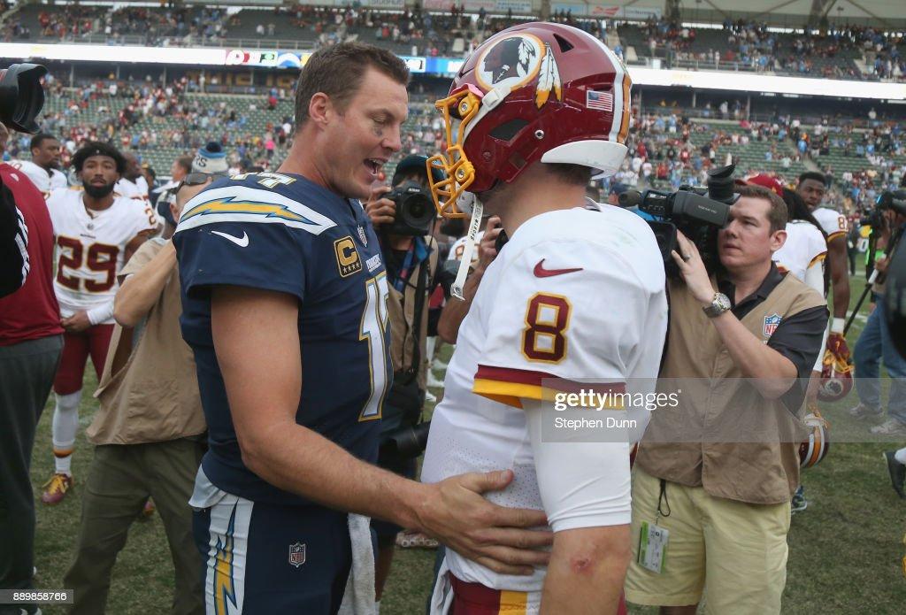 Washington Redskins v Los Angeles Chargers : News Photo