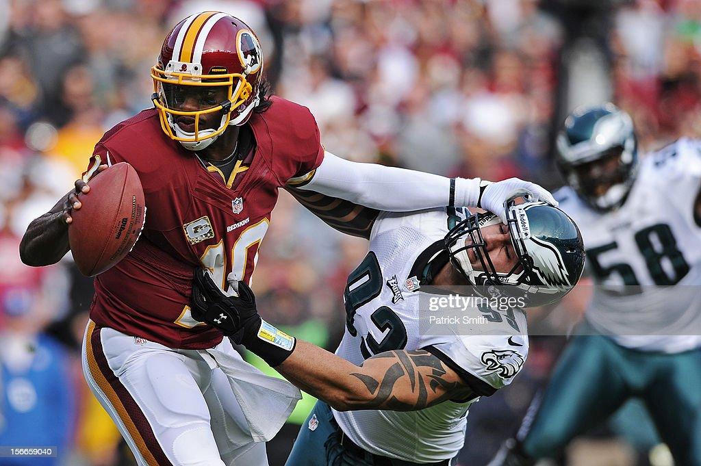 Philadelphia Eagles v Washington Redskins : Foto jornalística