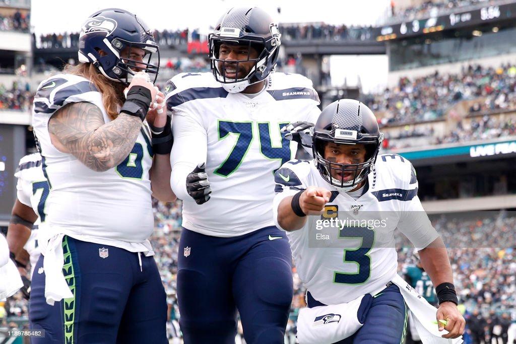 Seattle Seahawks vPhiladelphia Eagles : ニュース写真