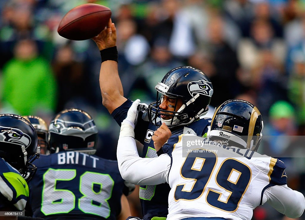 St Louis Rams v Seattle Seahawks : News Photo