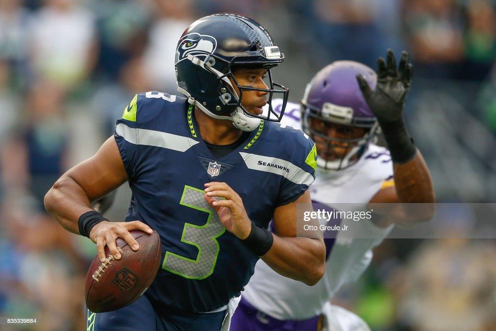 Minnesota Vikings v Seattle Seahawks : News Photo