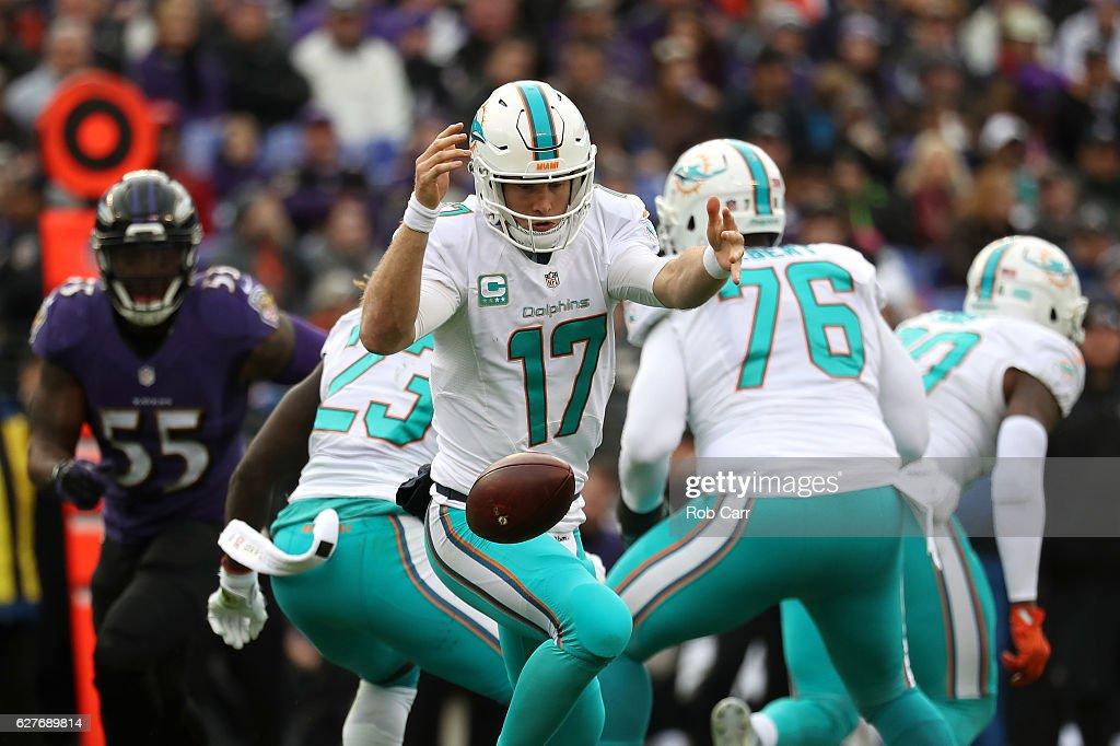 Miami Dolphins v Baltimore Ravens : News Photo