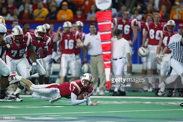 Qb Scott Mcbrien Stock Photos And Pictures Getty Images