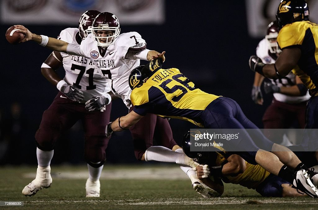 Pacific Life Holiday Bowl: Texas A&M v California : News Photo