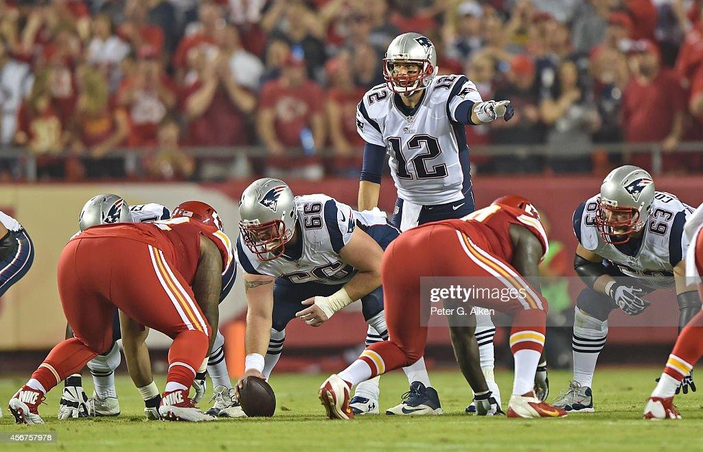 New England Patriots v Kansas City Chiefs : News Photo