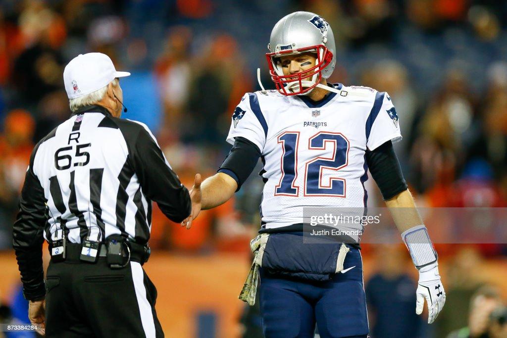 New England Patriots v Denver Broncos : News Photo