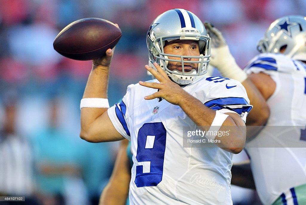 Dallas Cowboys v Miami Dolphins : Nyhetsfoto