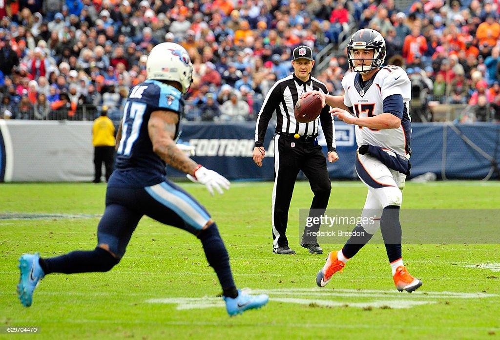 Denver Broncos v Tennessee Titans : News Photo